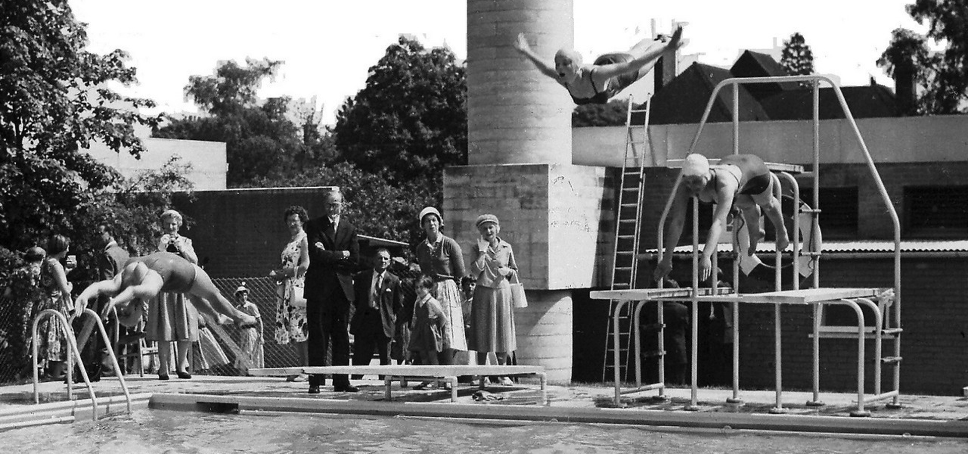 1960 Diving Exhibition